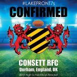 Consett RFC, Durham, England, UK