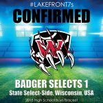 2018 Badger Selects 1, WI, USA