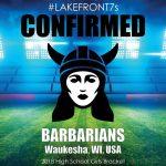 2018 Barbarians, Waukesha, WI, USA