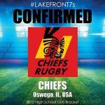 2018 Chiefs, Oswego, IL, USA