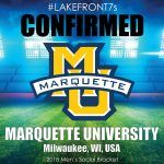 2018 Marquette University, Milwaukee, WI, USA