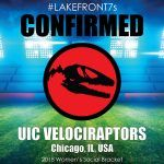 2018 UIC Velociraptors, Chicago, IL, USA