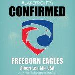 HS Boys 2019, Freeborn Eagles, Albert Lea, MN, USA