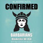 2019 HSG, Barbarians, Waukesha, WI, USA