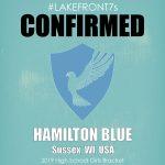 2019 High School Girls, Hamilton Blue, Sussex, WI, USA
