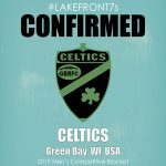 Mens Competitive 2019, Celtics, Green Bay, WI, USA