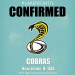 2019 High School Boys, Cobras, New Lenox, IL, USA