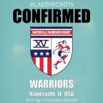 High School Boys 2019, Warriors, Naperville, IL, USA