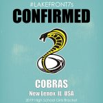 2019 High School Girls, Cobras, New Lenox, IL, USA