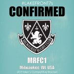 Mens Competitive 2019, MRFC1, Milwaukee, WI, USA