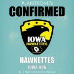 2019 High School Girls, Hawkettes, Iowa, USA