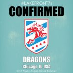 Men's Super Social 2019, Dragons, Chicago, IL, USA