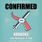 Men's Super Social 2019, Krakens, Lake Michigan, USA