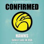 2019 High School Boys, Hawks, Select-side, IA, USA