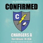 2019 High School Girls, Chargers A, Fort Wayne, IN, USA