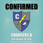 2019 High School Girls, Chargers B, Fort Wayne, IN, USA