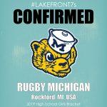 2019 High School Girls, Rugby Michigan, Rockford, MI, USA