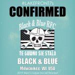 Men's Super Social 2019, Black & Blue, Milwaukee, WI, USA