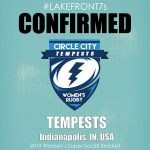 2019 Women's Super Social, Tempests, Indianapolis, IN, USA