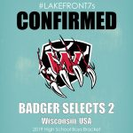 2019 High School Boys, Badger Selects 2, Wisconsin, USA