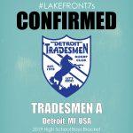2019 High School Boys, Tradesmen B, Detroit, MI, USA