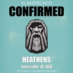 Mens Competitive 2019, Heathens, Janesville, IA, USA
