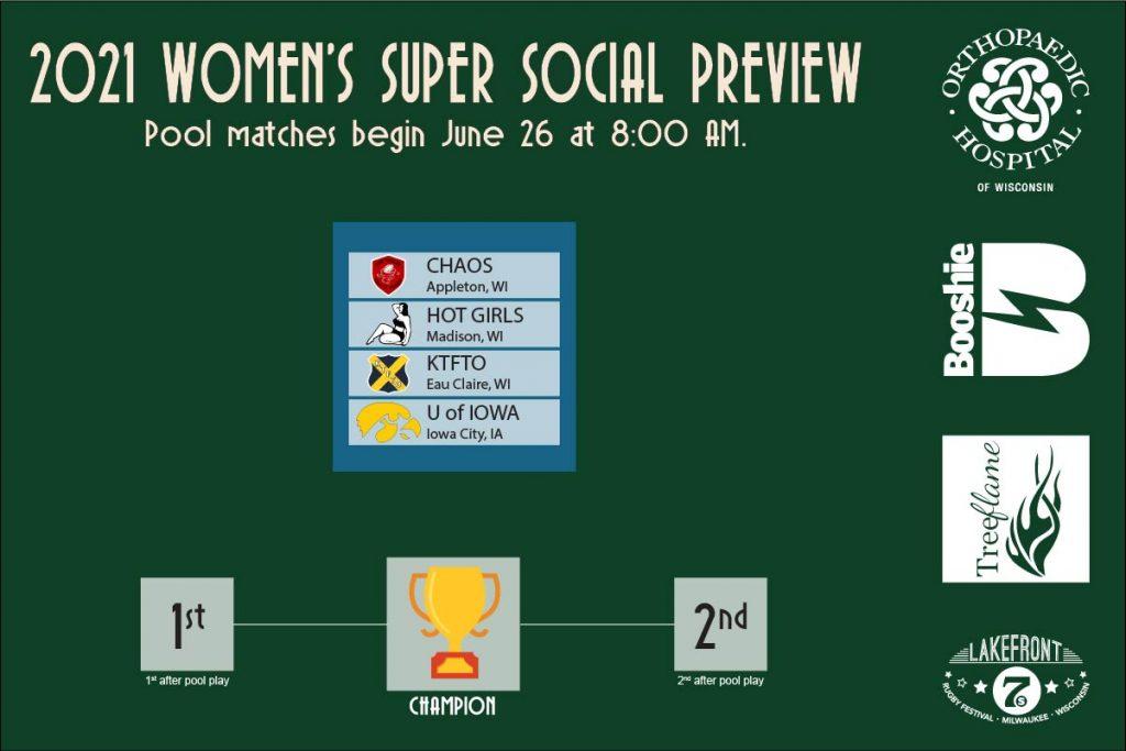 2021 Womenssuper Social Pools